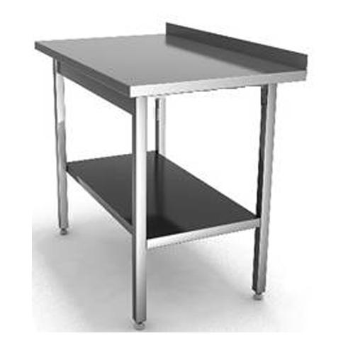 СРП - стол с усиленным каркасом пристенный со сплошной полкой