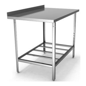 Столы производственные с полкой решетчатой