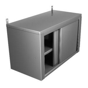 Полки-шкафы настенные закрытые